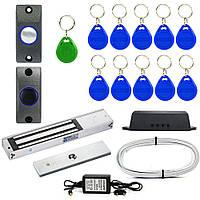 Электромагнитный замок ЕМ350-Е комплект для самостоятельной установки