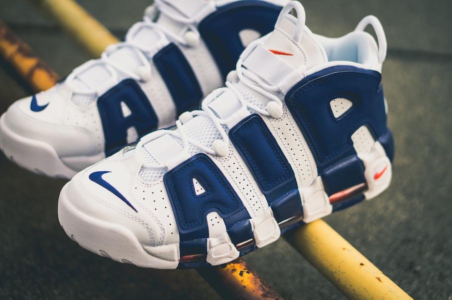 Кроссовки Nike Air More Uptempo Knicks
