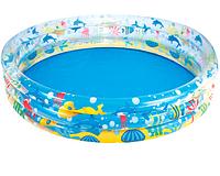 Детский надувной бассейн Bestway 51005, Подводный мир