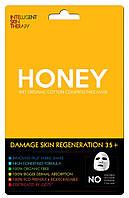 Маска для лица с мёдом и протеинами пшеницы BeautyFace