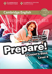 Cambridge English Prepare! 4 Student's Book / Учебник