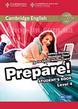 Cambridge English Prepare! 4 Student's Book / Учебник