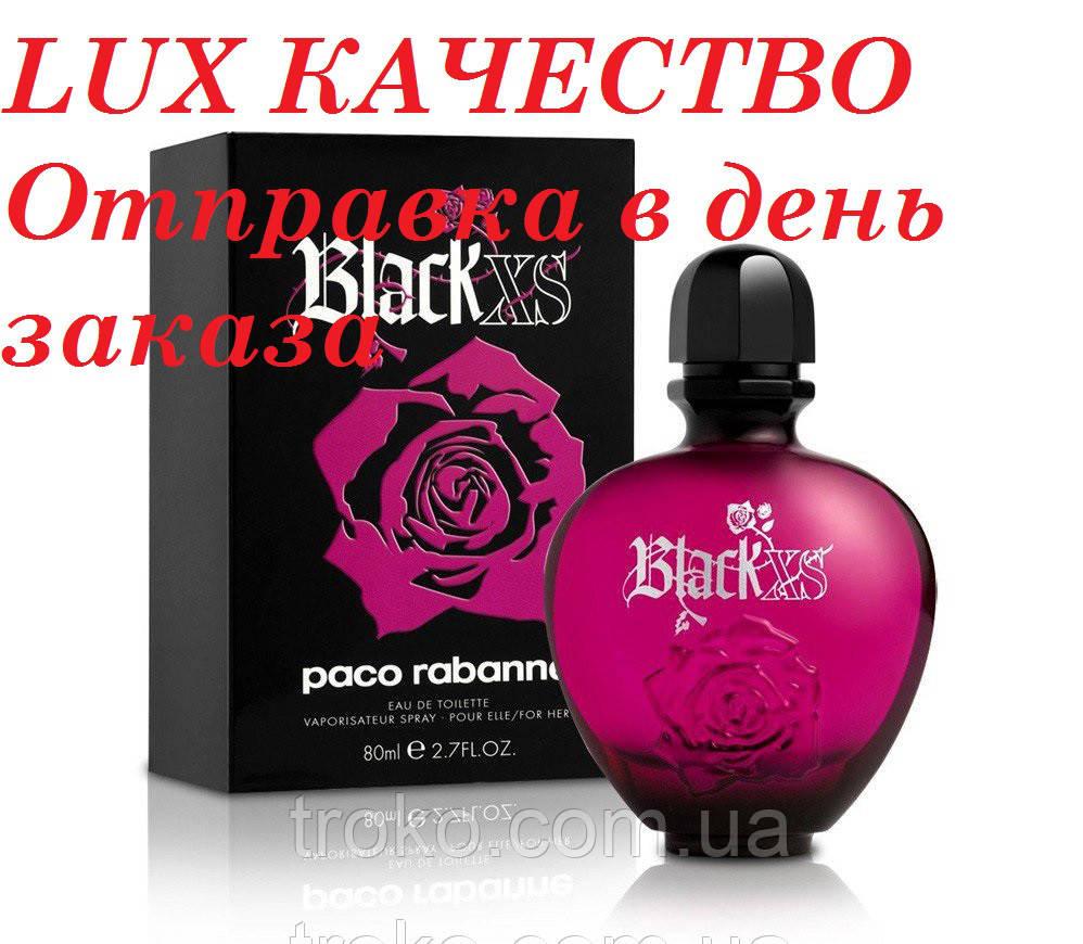 Туалетная вода Paco Rabanne Black XS Pour Femme 80 мл