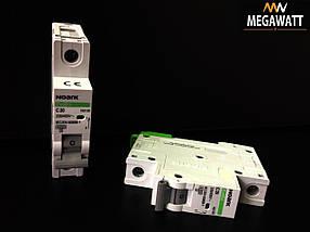 Модульний автоматичний вимикач 1/20A серія EX9BS, 1P C20 4,5KA