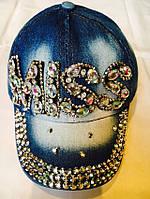 Кепка детская на девочку джинсовая 48-52 см купить В РОЗНИЦУ в Одессе 7 километр дешево