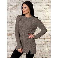 Вязаный свитер туника 44-46-48 универсальный размер в разных цветах