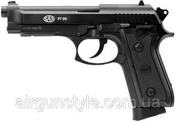 Пистолет пневматический SAS PT99 Blowback (Taurus) [KMB-15AHNS]