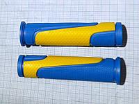 Грипсы (ручки руля) Spelli SBG-6708L 127 mm прямые, круглые