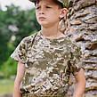 Комплект Киборг костюм кепка футболка камуфляж Пиксель, фото 4