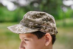 Комплект Киборг костюм кепка футболка камуфляж Пиксель, фото 3
