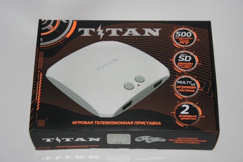 Купить Игровая приставка Титан 3 (Titan 3) + 500 игр