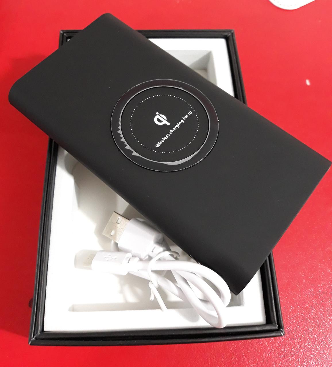 Беспроводной внешний аккумулятор с зарядкой Qi Sky B 10000 mah Power Bank Wireless
