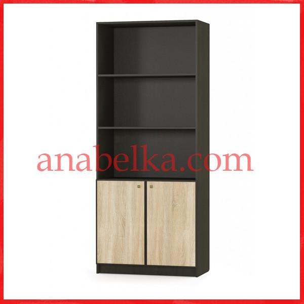 Шкаф стеллаж 2Д Фантазия  (Мебель Сервис)