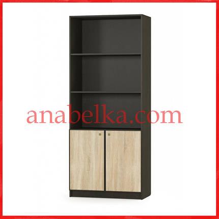Шкаф стеллаж 2Д Фантазия  (Мебель Сервис), фото 2