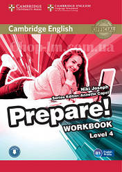 Cambridge English Prepare! 4 Workbook with Downloadable Audio / Рабочая тетрадь