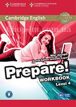Cambridge English Prepare! 4 Workbook with Downloadable Audio / Рабочая тетрадь