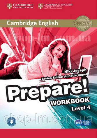 Cambridge English Prepare! 4 Workbook with Downloadable Audio / Рабочая тетрадь, фото 2