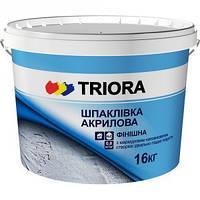"""Шпатлёвка финишная акриловая """"TRIORA"""" 5,0 кг"""