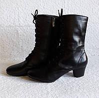 Женские сапоги народные на шнурках с раздельной подошвой 1f059a35da874