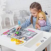 Детский игровой стол-песочница с разноцветной подсветкой