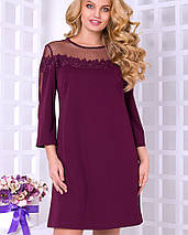 Женское платье больших размеров с кружевом (Милавита lzn), фото 3