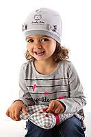 Демисезонная шапочка для девочки KITTY, Marika (Польша)