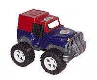 """Внедорожник игрушечный  """"Джип Хаммер  большие колёса """" фиолетовый Бамсик Украина 34*24*22 см."""
