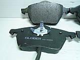 Тормозные колодки передние Volkswagen Passat B5 Glober, фото 3