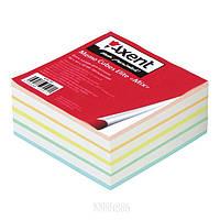 """Бумага """"Elite Mix"""" 8017-A для заметок, 90х90х40 мм, проклееная, цветная   AXENT"""