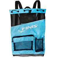 Сумка спортивная Ultra Mesh Backpack Aqua Blue/Black
