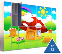 Металлические шкафы для раздевалок  детского сада