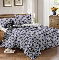 Полуторное постельное белье Графика, сатин 100%хлопок