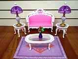 Кукольная мебель Глория Gloria 2604 самая красивая Гостинная, фото 5