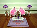 Кукольная мебель Глория Gloria 2604 самая красивая Гостинная, фото 4