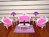 Кукольная мебель Глория Gloria 2604 самая красивая Гостинная, фото 3