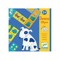 Игра детское домино Цвета животных Djeco (DJ08111)