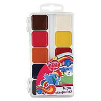 Краски акварельные Kite My Little Pony 10 цветов в пластиковой упаковке LP17-060