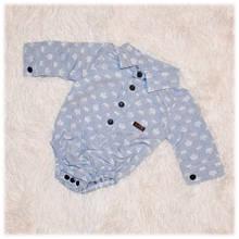 Боди-рубашка на мальчика Flexi размер 56 62 68 74
