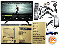 "Новый Led телевизор Samsung BlackLight 24"" Т2 тюнер,HD Ready,dvb-t2"