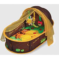 Манеж кровать развивающий Шоколад LUDI (2808)
