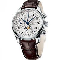 Мужские стильные механические часы Longines L2 Master Collection