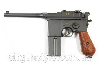 Пистолет пневматический SAS Mauser M.712 Blowback [KMB18DHN]