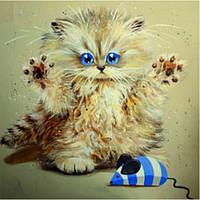 Набор алмазной вышивки Озорной котенок