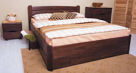 Кровать деревянная София V с ящиками ТМ Олимп, фото 2