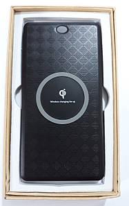 Внешний аккумулятор  беспроводной с зарядкой Qi T-6000 10000 mah Power Bank Wireless