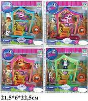 Детская игрушка  Герои 7312 животные с PetShop с домиком и аксессуарами  21,5*6*22,5