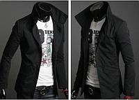 Мужская куртка пиджак из плотной ткани без подклад