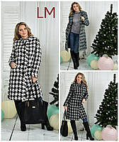 Пальто женские размер 66 батал в Украине. Сравнить цены b0abfa880c3b2