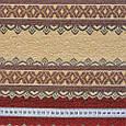 Гобелен ткань, орнамент, полоски, фото 3