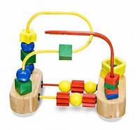 MD13042 First Bead Maze (Классический мини-лабиринт с бусинами)